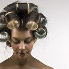Diferencia entre usar rulos grandes o medianos en tu cabello