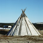 What Materials Were Used to Make Teepees?