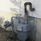 How to convert LEL to PPM on a gas meter