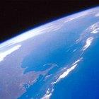 Quais são os três gases mais abundantes na atmosfera terrestre?