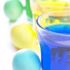 How to color eggs with food coloring and without vinegar