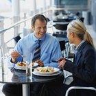 Las leyes laborales con respecto a las horas de almuerzo