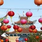 Uso de los faroles de papel chinos en el feng shui