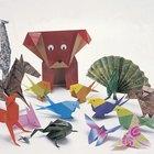 Como fazer um origami de pessoa simples