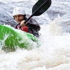 Kayak en Clarks Fork de Yellowstone