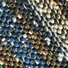 Como pintar um tapete de sisal