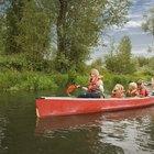 Los mejores rios en California para viajes en canoa con principiantes