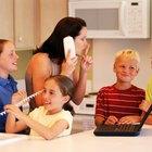 Cómo enseñarles a los niños a no interrumpir durante una conversación