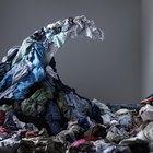 Percheros y estantes caseros para la ropa