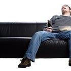 Como consertar um sofá de couro rasgado