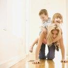 Juegos en el interior  para ayudar a las habilidades motoras gruesas de preescolares