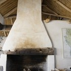How to make painted ceiling beams look like wood