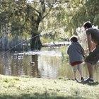 Equipo de pesca para niños