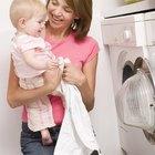 Cómo lavar ropa de bebé con bicarbonato de sodio