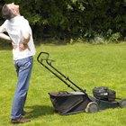 Por que o motor do meu cortador de grama para quando esquenta?