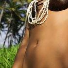 Hawaiian woman hula dancing