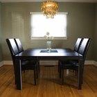 Ideas para pintar una mesa y sillas de comedor