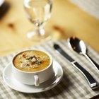 Cómo espesar una sopa sin utilizar harina
