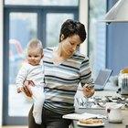Buenas rutinas para madres que trabajan