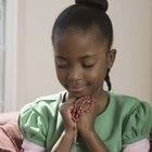 Cuentas para rezar y cómo rezar el rosario con los niños
