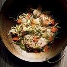 ¿Cómo ablandar las pechugas de pollo para preparar platillos chinos?