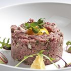 Raw Beef on Pink Tray