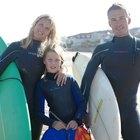 Campamentos de surf para niños con autismo