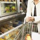 Vida útil de los alimentos congelados