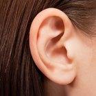 Pele seca na orelha