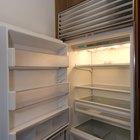 Dimensões de profundidade menor para geladeira