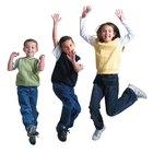 Brincadeiras de dança para jovens dançarinos