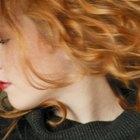 8 tons avermelhados para o cabelo