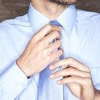 Cómo fabricar una corbata con elástico o corbatín