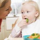 Actividades de nutrición para infantes