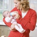 Ventajas y desventajas de la leche de fórmula para un bebé