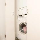 A expectativa de vida de uma lavadora e uma secadora empilhadas