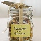 Cómo hacer granola Vegana sin maiz y sin azucar