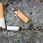 Como reparar queimaduras de cigarro no estofamento