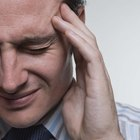 What are the causes of frontal lobe headaches?