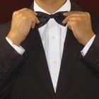 Cómo hacer corbatas de moño para hombres