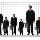 Relación entre la altura y el tamaño de los pies