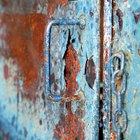 Cómo remover el oxido de una puerta de metal exterior