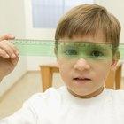 Enseñar a los niños cómo medir con centímetros