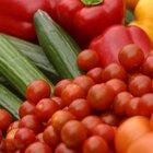 Lista de frutas y vegetales con alto contenido de agua