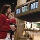 ¿Cuáles son los peligros de que un bebé viaje en avión?