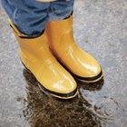 Como limpar botas de borracha