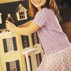 Como fazer móveis para casa de boneca com papelão