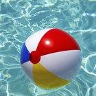 Como consertar uma bola de praia furada