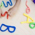 Actividades para niños con masilla