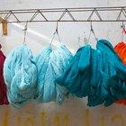 Como livrar-se do mau cheiro em tecidos tingidos
